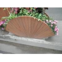 加工各种规格的防腐木花架,碳化木花厢,碳化木阳台