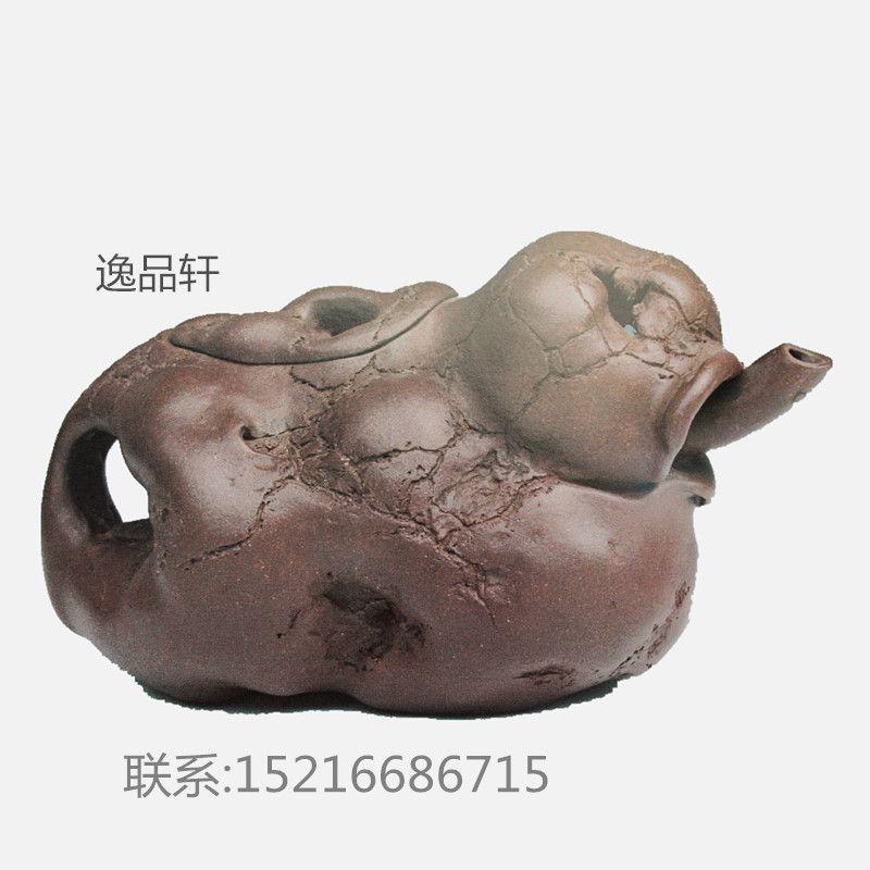 陶  摆挂形式 摆饰  产品编号 紫砂供春壶  类别 动物  纹饰图案 鱼虫