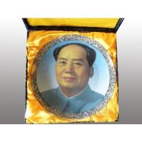 供应人物肖像瓷盘 毛主席人像瓷盘 定做肖像瓷盘