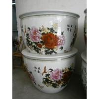 供应陶瓷缸 定做陶瓷缸 装饰缸 景德镇青花大缸