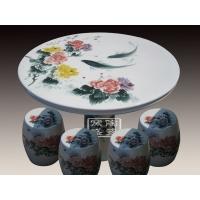 供应园林瓷桌 陶瓷桌子 景德镇陶瓷桌凳