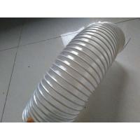 白色pvc透明钢丝软管