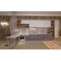 不锈钢橱柜 整体厨柜 304不锈钢橱柜家用不锈钢整体橱柜