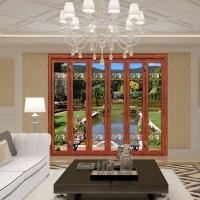 米兰系列-大折叠门----铝合金门窗