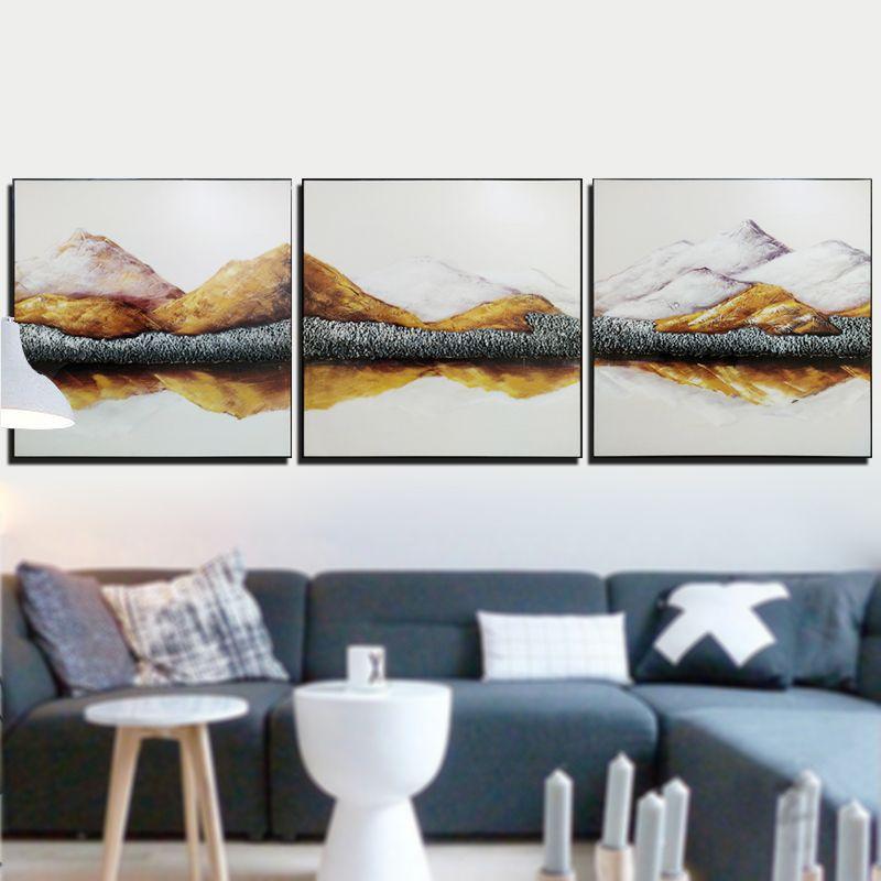 佳和佳美烤瓷浮雕画 ,冰晶画, 装饰画 沙发背景三连画