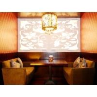 杭州咖啡厅沙发卡座|框架材质:木骨架