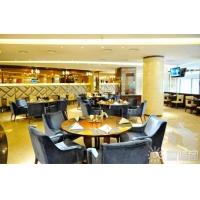 杭州咖啡厅餐桌|五金配件说明:铸铁桌脚;实木或防火板桌面