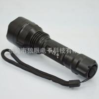 神火c8 t6强光大功率铝合金手电筒10W led强光充电手
