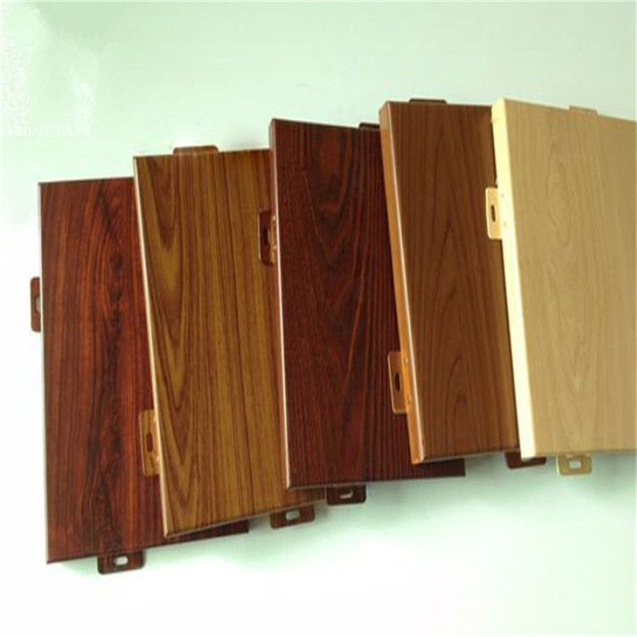 厂家供应木纹铝单板 仿木纹铝板装饰 大理石铝板装饰 可定制