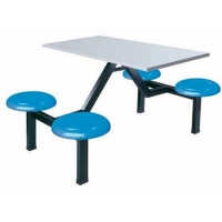 食堂桌椅,广州学校家具,玻璃钢食堂桌椅