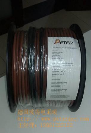 德国彼得电地暖双导双发热电缆采暖系统
