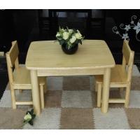 松木实木家具儿童松木家具儿童小桌椅组合