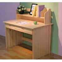 儿童松木家具儿童松木实木家具儿童异型书架电脑桌