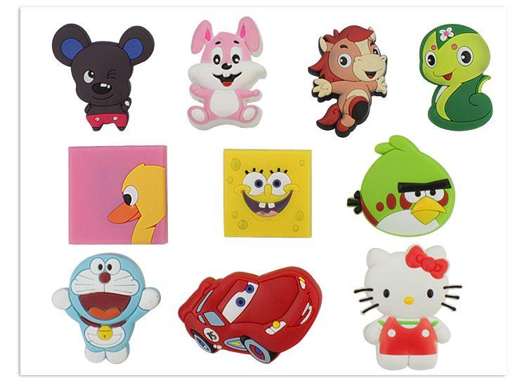 卡通拉手环保把手儿童房儿童柜抽屉衣柜门车动物卡通