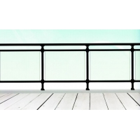 美观安全防护易安装玻璃阳台护栏