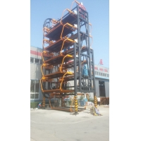 垂直循环立体车库样机在北京九虹重工安装成功
