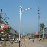 新款户外太阳能路灯 6米新农村建设太阳能灯 led照明路灯厂