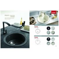 佰朗格欧式厨房石英石水槽、石英石洗菜盆、石英石洗碗池单槽