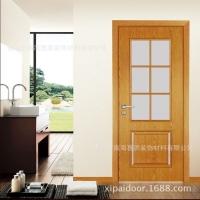 批量生產 佛山烤漆門 高檔室內生衛浴門 高品質木門玻璃門