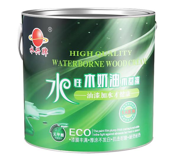 【水兴牌木奶油白色木器漆】遮盖力强 │超耐黄变