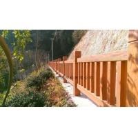 仿木栏杆 水泥仿木栏杆 色泽纯正