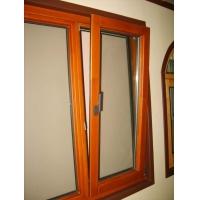 铝木门窗 铝木复合断桥铝门窗中鸿森特72系列木包铝