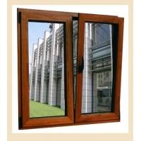 铝木复合门窗72系列美国红橡木门窗 平开窗 固定窗