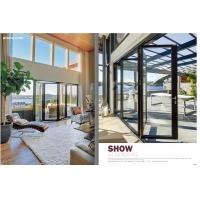 铝木复合平开窗 72系列 美国红橡木门窗