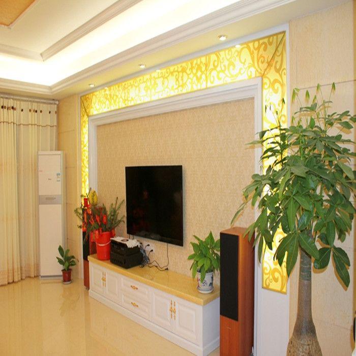 杰洛特生态板竹木纤维集成墙板客厅电视背景板护墙板