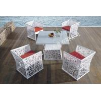 独特风格环保仿藤户外休闲桌椅 户外休闲桌椅