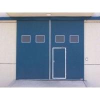 工业平开门维修订做.西安工业门.维修垂直提升门