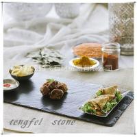 板岩异形餐垫 石材防滑餐垫 板岩耐磨餐垫 板岩防滑餐托