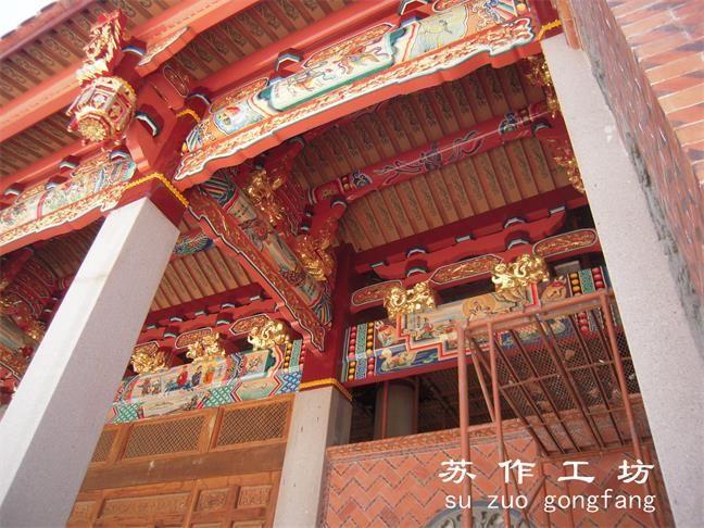 古建彩绘园林彩绘寺庙彩绘佛堂彩绘