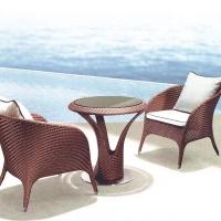 戶外桌椅,深圳藤編家具,現代時尚家具