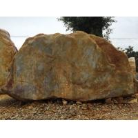景观石 园林石基地 黄蜡石吨位黄蜡石
