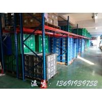 仓库卡板式货架,横梁重型卡板货架,带层板卡板货架