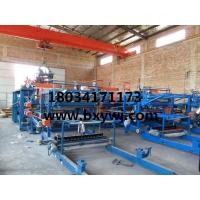 博翔生产复合板机设备、彩钢瓦设备、楼承板设备