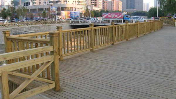 防腐木栏杆-08