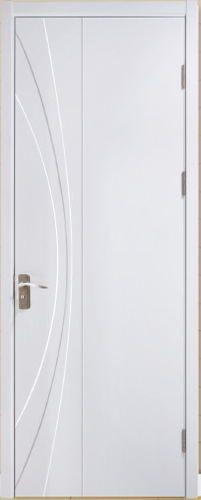 和府润祥木门,白色实木烤漆门