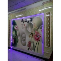 舒歌装饰3D背景墙 玄关画 电视墙定制