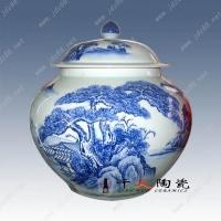 青花瓷  景德镇茶叶瓷罐   定做陶瓷罐子