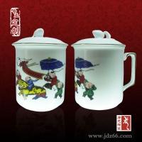庆典陶瓷杯   广告活动陶瓷茶杯定做   景德镇陶瓷茶杯
