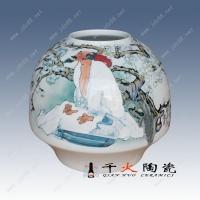 景德镇纯手工手绘高档陶瓷花瓶 家居工艺品 摆件插花多用