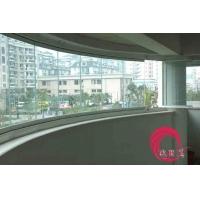 深圳无框阳台玻璃折叠窗钢化玻璃