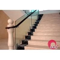 深圳玻璃楼梯扶手不锈钢玻璃扶手栏杆