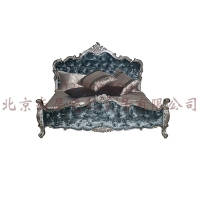 意式双人床/供应最新款成套卧室大连北京上海星河湾家具定制设计