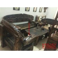 沙发客厅沙发床老船木家具