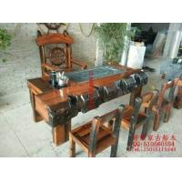 茶桌椅 茶艺桌会客桌茶几老船木家具