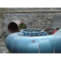 ZDK283-LJ-90金属蜗壳轴流式水轮机峨眉山建南数控加