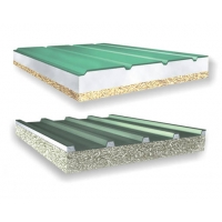 复合屋面木丝板